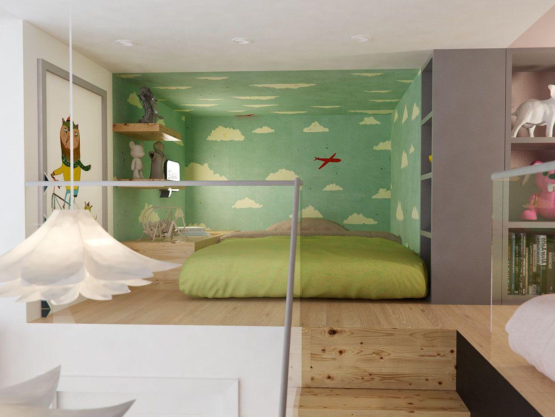 Modern nursery furniture by ubabub nesting nursery
