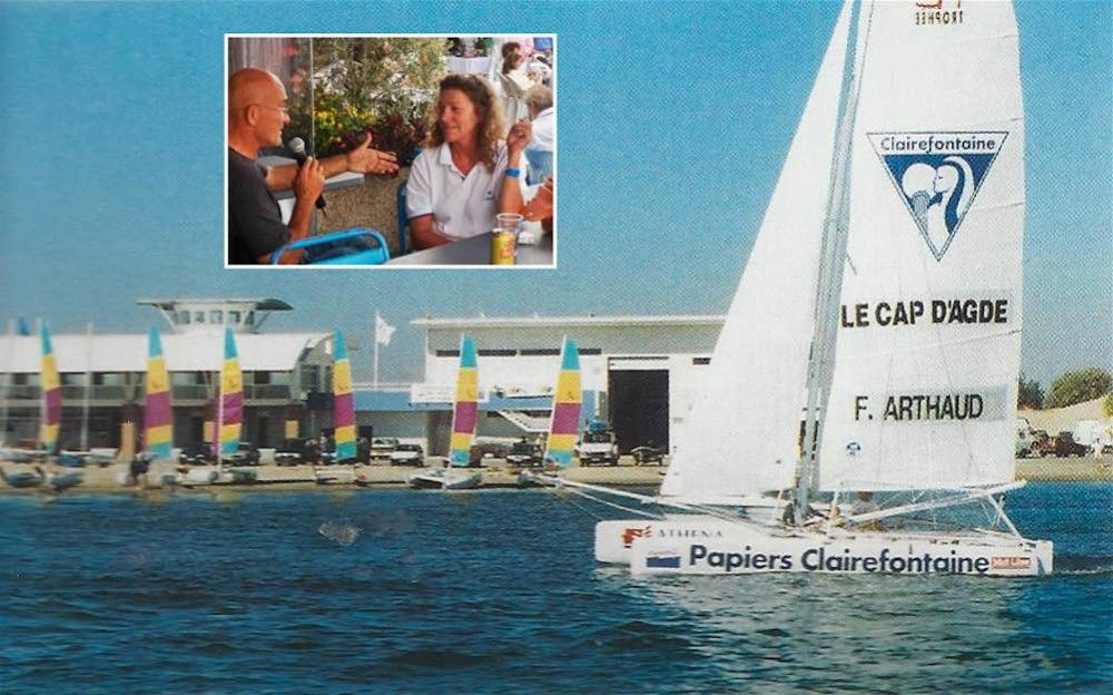 Cap D Agde 1995 1996 Quand Florence Arthaud Naviguait Sur Le
