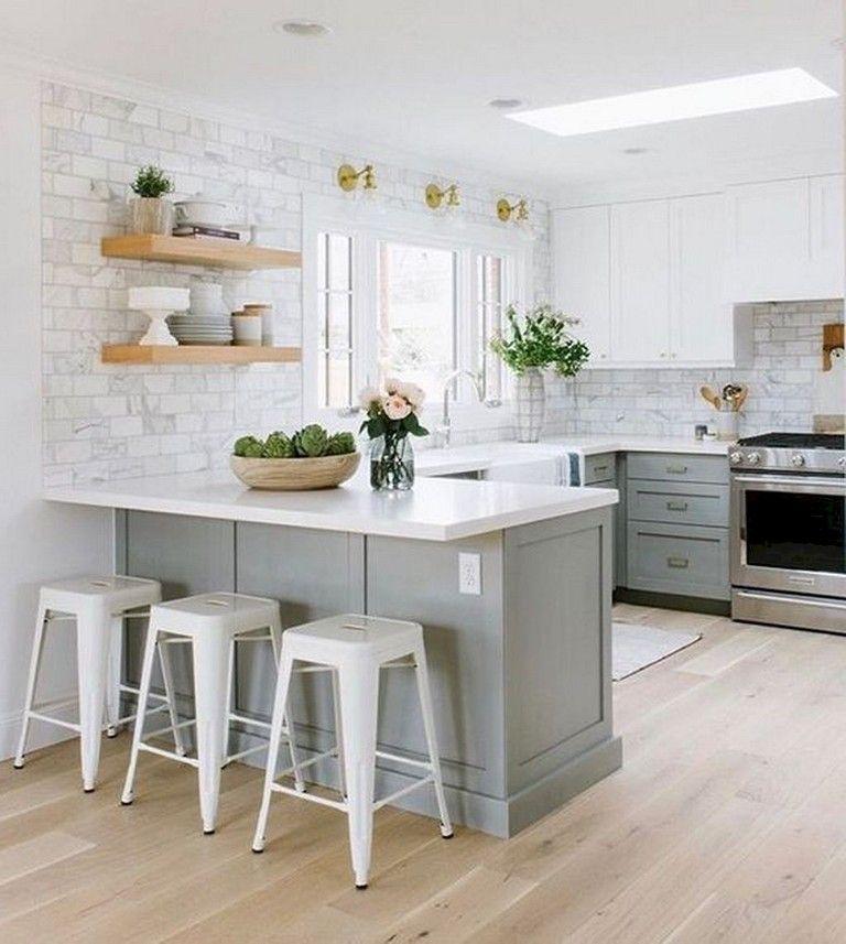 83 Ispiring Design For Farmhouse Kitchen Cabinets Ideas Kitchen