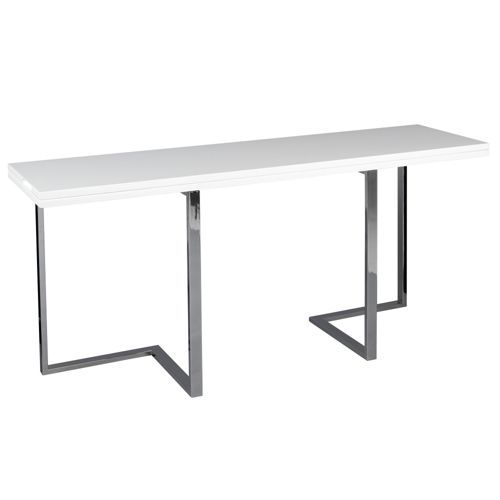 Elau consoles and tables - Table console extensible noir ...