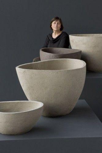 Atelier vierkant pots ceramica pinterest cer mica for Jardineras de ceramica
