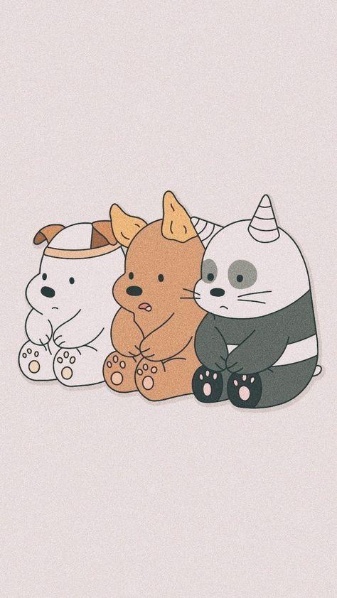 Drawing Aesthetic Soft 46 Trendy Ideas | We Bare Bears Wallpapers, Cute Cartoon Wallpapers, Bear Wallpaper 922