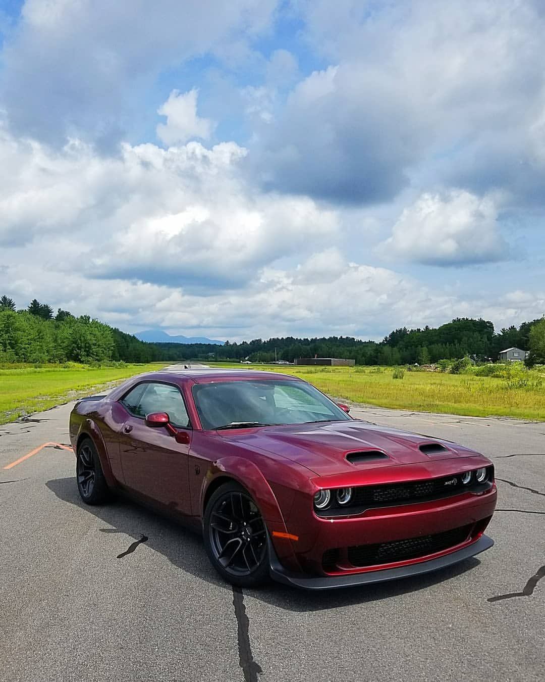 The 2019 dodgeofficial Challenger Redeye is on point