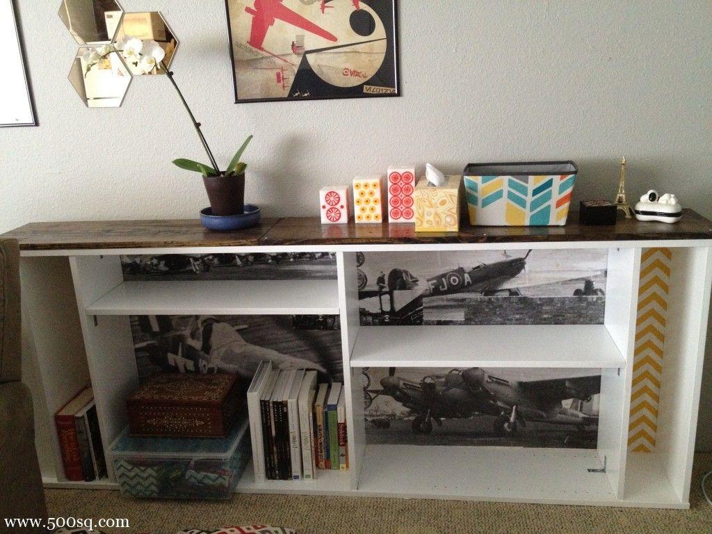 Credenza Billy Ikea : Ikea billy hack crafty ideas