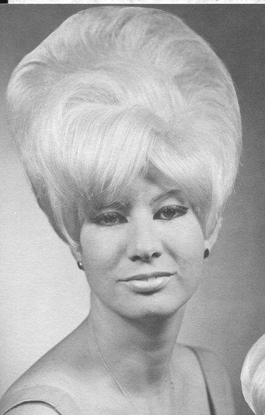 Untitled Beehive Hair Bouffant Hair 1960s Hair