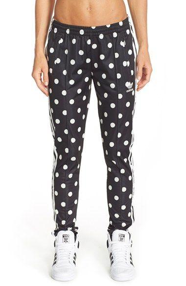 Nieuw adidas Originals 'AOP Supergirl' Polka Dot Track Pants | Roupas JK-37