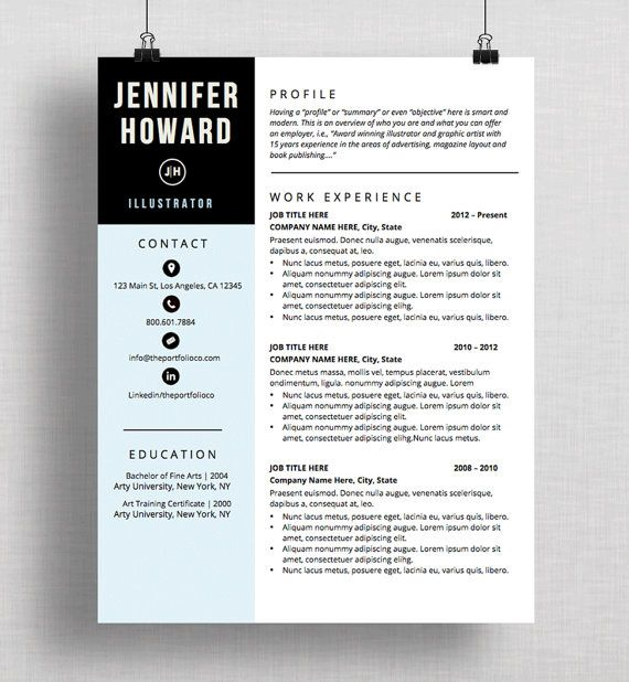 resume template cv template cover letter modern resume designs