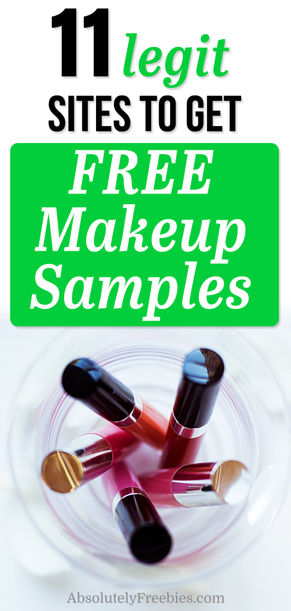 11 Best Companies to Get Free Makeup Samples By Mail Get