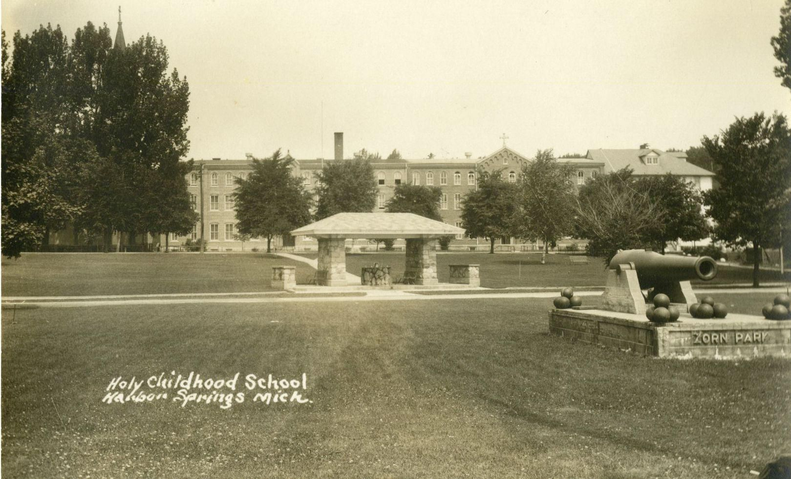 A View Of The Holy Childhood Boarding School From Beach