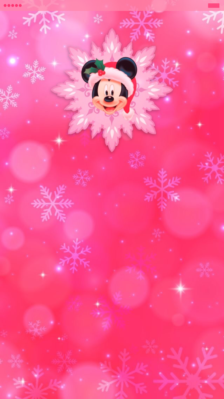 Tee Pink Santa Mickey Mouse Iphone 6s Plus Homescreen Disney Wallpaper Cute Christmas Wallpaper Disney Christmas