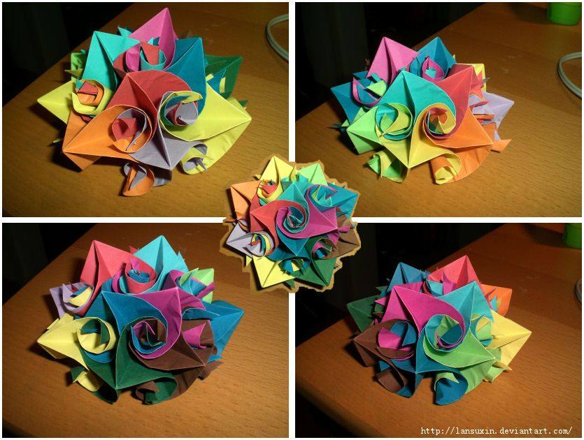 Beautiful origami flower crochet craft pinterest origami beautiful origami flower mightylinksfo