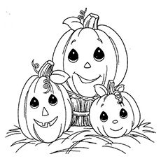 top 10 free printable halloween pumpkin coloring pages online - Cute Halloween Coloring Pages