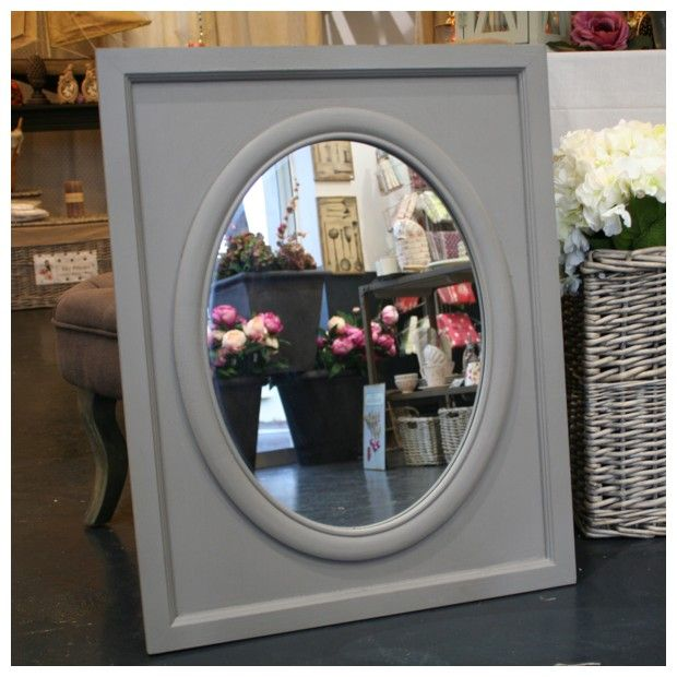miroir bois taupe d co de charme maison deco. Black Bedroom Furniture Sets. Home Design Ideas