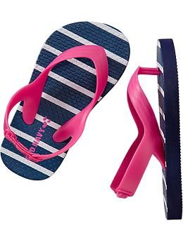 4c5cf1cf812 Printed Flip-Flops for Baby (Old Navy 12m-5T)