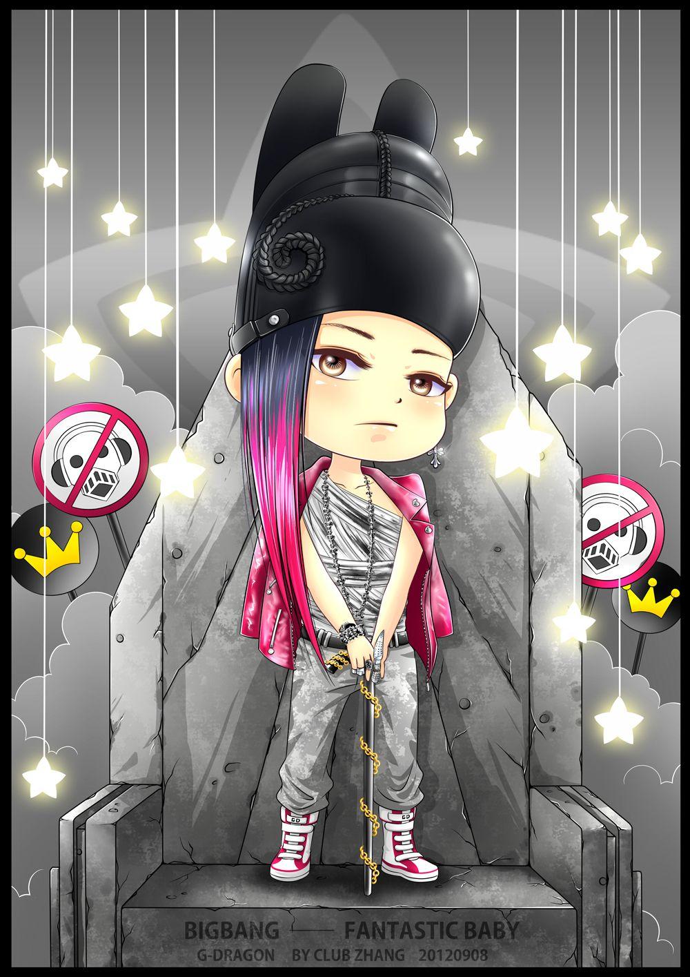 G Dragon Fantastic Baby Chibi