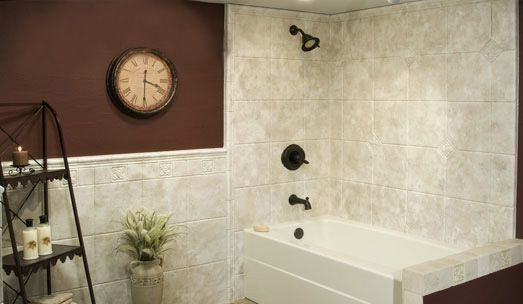 Wall Surrounds Are Made With Durabath Ssp To Prevent Mold