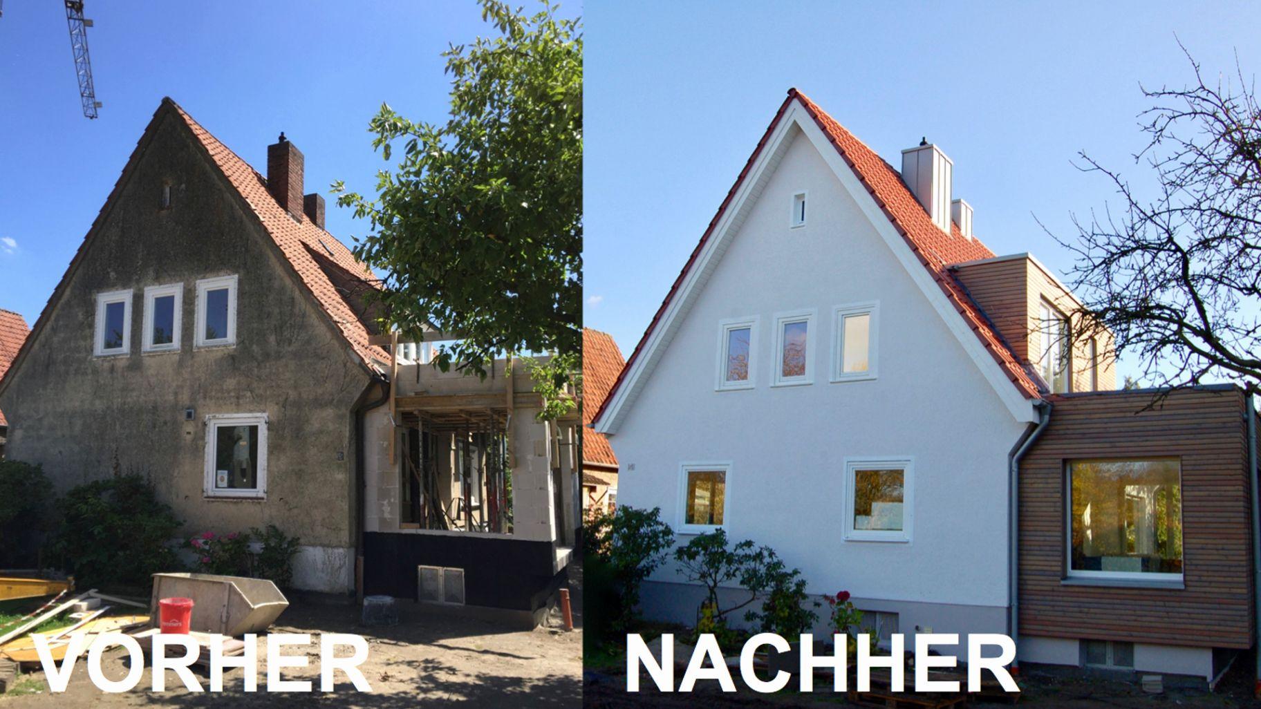 Hausumbau Vorher Nachher Luxus Siedlungshaus Vorher Nachher