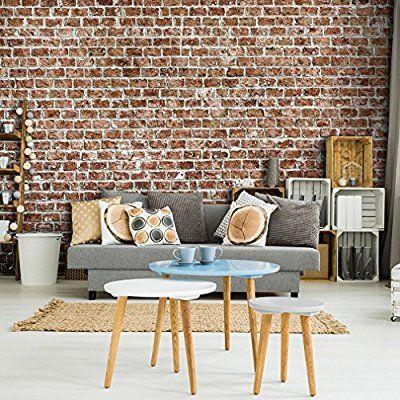 Fototapete Steinwand Steine 400x280 cm XXL VLIES TAPETE - Moderne - wohnzimmer design steinwand