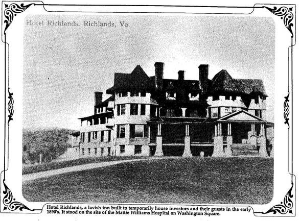 Hotel Richlands 1890 S Tazewell County Hometown Hotel