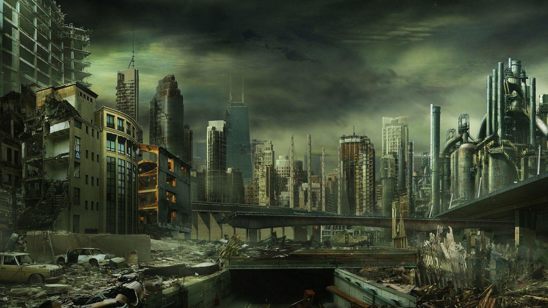 Http Www Wallfizz Com Art Design Desastre Et Catastrophe 5857 Megapole Detruite Wallfizz Jp Paysage Apocalyptique L Art Post Apocalyptique Fond Ecran Gratuit
