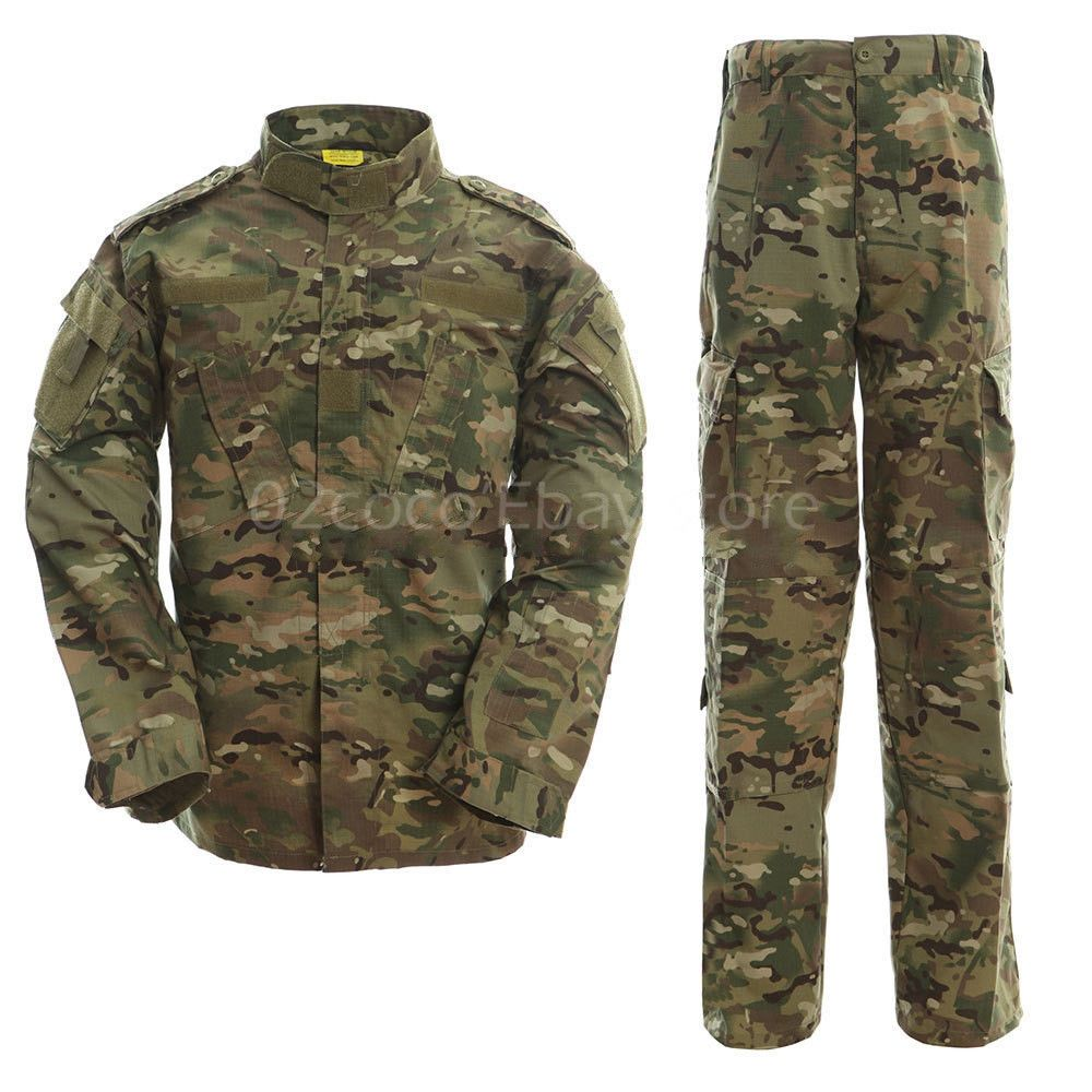 Mens Black Poly//Cotton Military Army Fatigues Work Utility Uniform Cargo BDU Pants with Pin