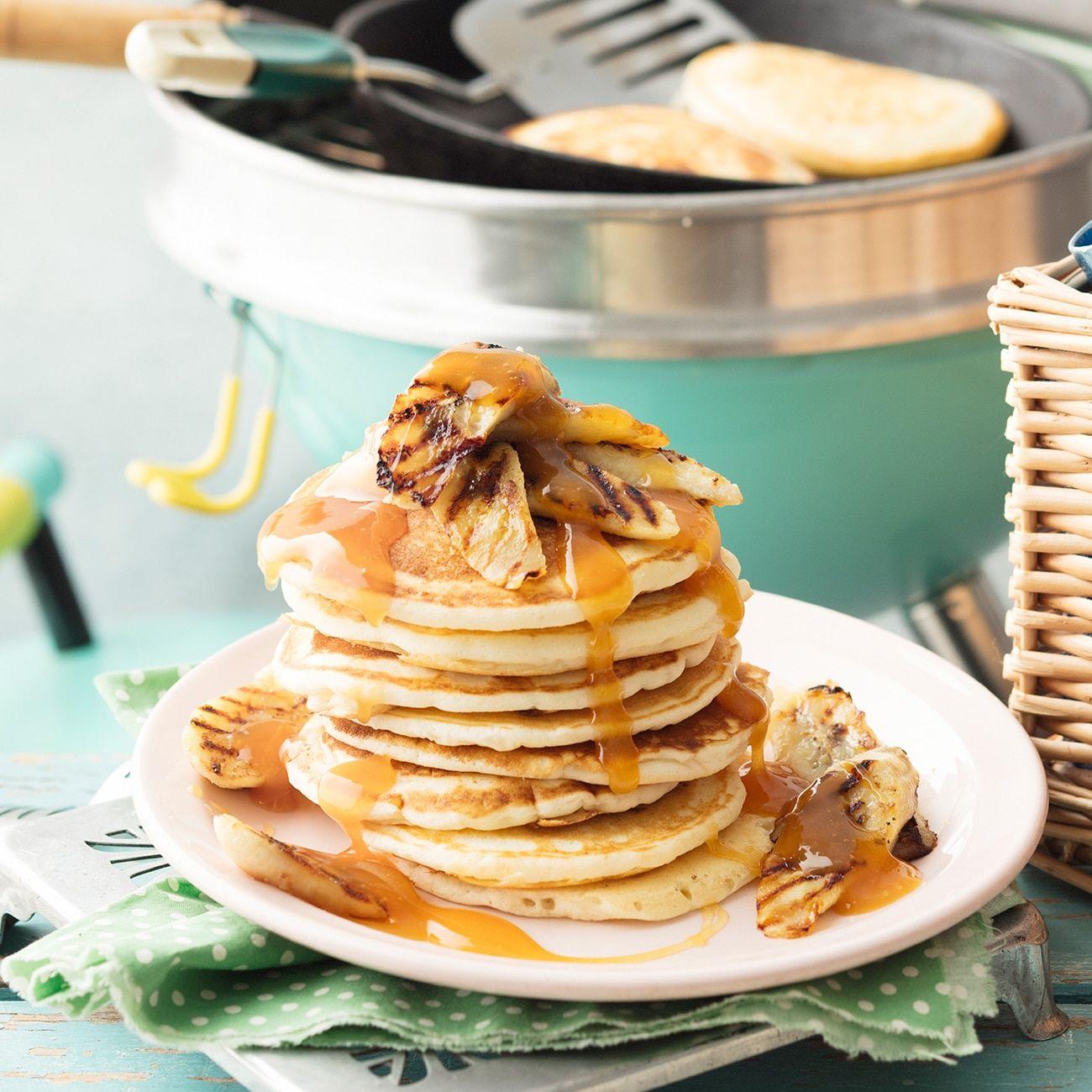 GlutenFree Banoffee Pancakes Recipe Raw vegan