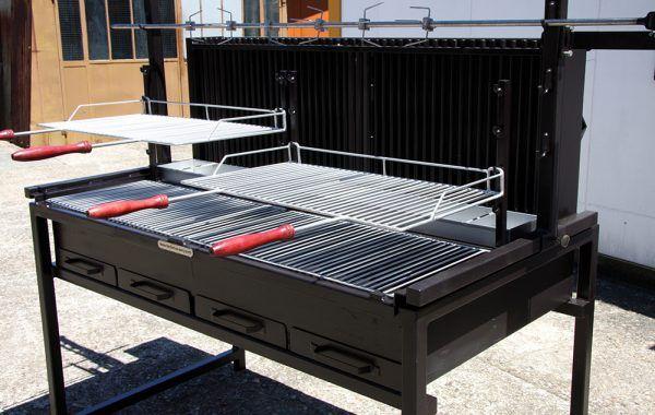 Barbecue série 700 Rhône, gamme de barbecue professionnel en
