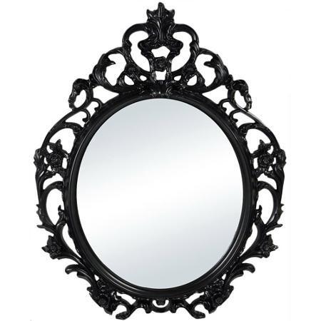 Home Oval Wall Mirror Baroque Mirror Mirror Wall