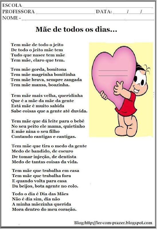 Poema E Poesias Dia Das Maes 287 29 Jpg 548 800 Com Imagens