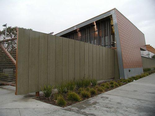 Project Photos Modern Exterior Facade Cladding Concrete Fence Wall