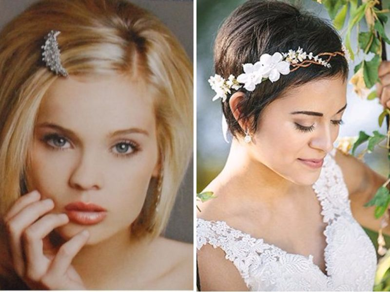 Cute for your wedding - Popular Straight Hairstyles for Your Wedding - EverAfterGuide