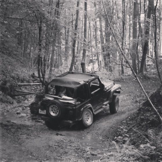 Jeep Wranglers On The Trails In Southern Ohio Jeep Wrangler
