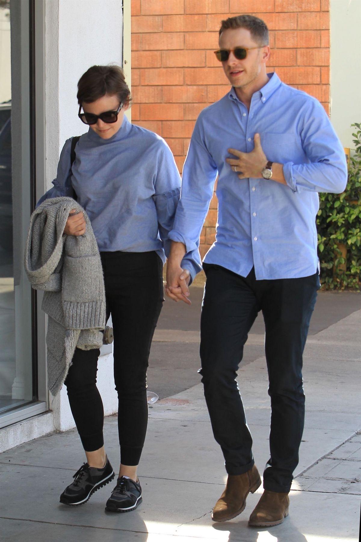 Ginnifer Goodwin and Josh Dallas in LA February 10th 2018 ...