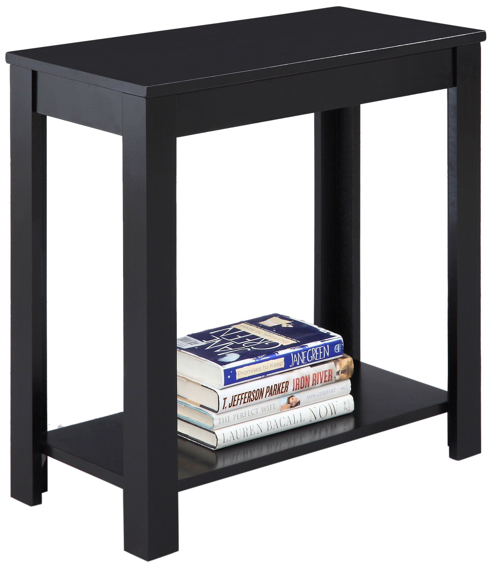 Amazon Com Crown Mark Pierce Chair Side Table Espresso End Table Black Side Table Sofa Side Table Side Table Wood