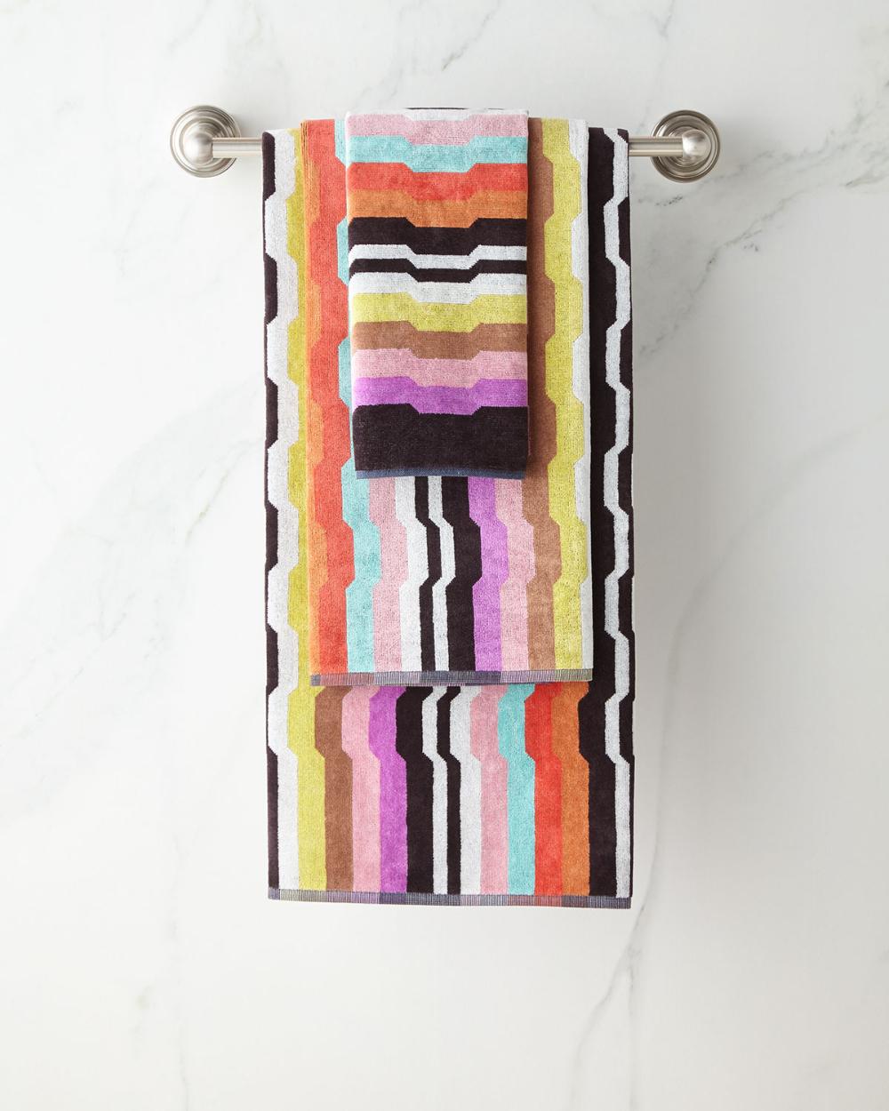 Missoni Home Wilbur Bath Towel In 2020 Bath Linens Bath Towels