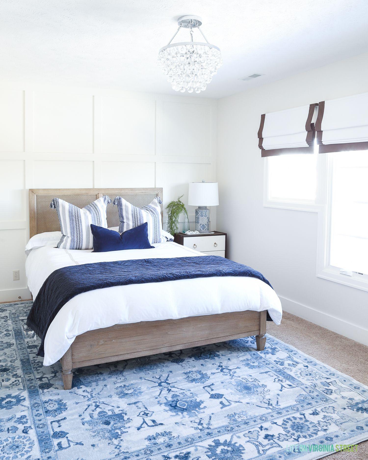 Coastal Guest Bedroom Progress | Modern bedroom decor ...