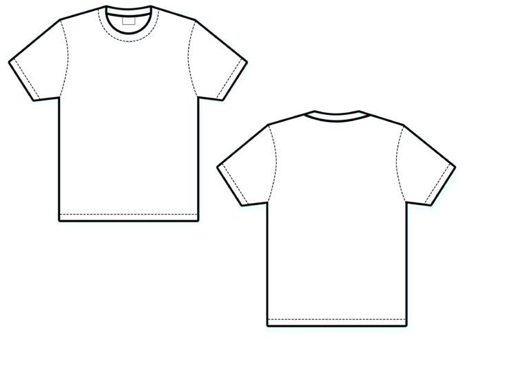 Download White T Shirt Template Luxury Blank Front Back Miadesigner In Blank T Shirt Outline Template T Shirt Kemeja Kaos