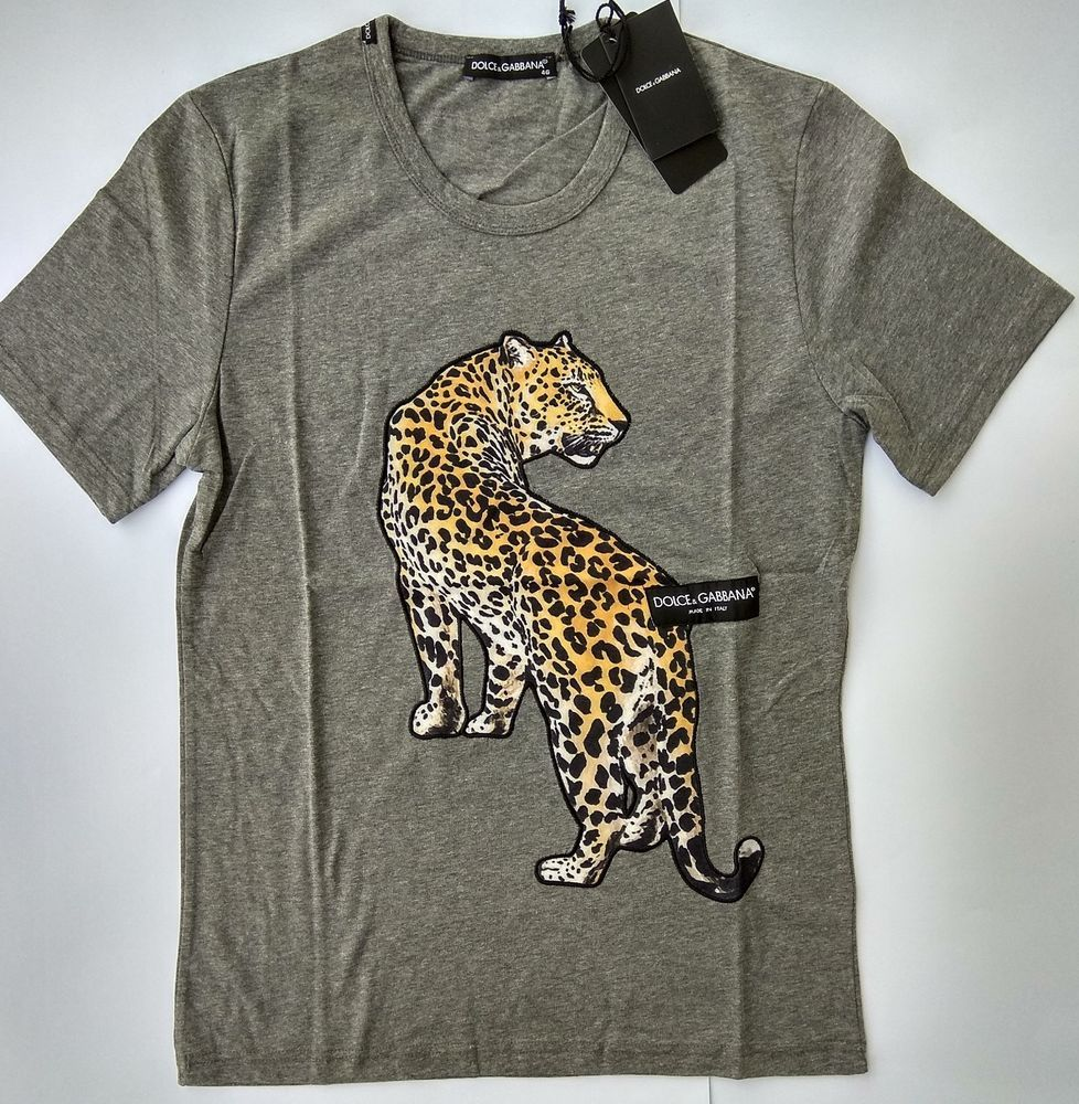 b0ba2da8ac77 New DOLCE GABBANA Men's T-Shirt Size M D&G Crown Love King Heart Italy  Leopard #fashion #clothing #shoes #accessories #mensclothing #shirts (ebay  link)