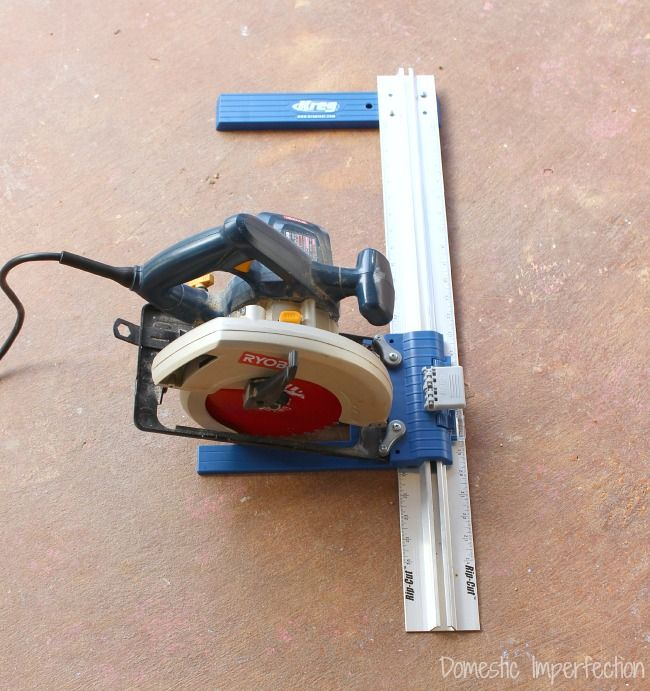 Building a DIY Kids' Toy Shelf with the Kreg Rip-Cut™ Saw Guide