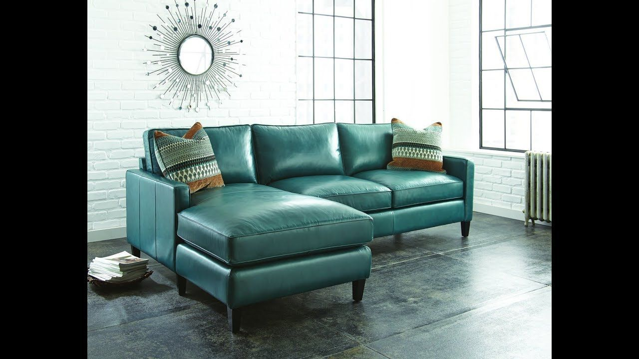 Teal Leather Sectional Sofa Https Www Otoseriilan Com Teal Sofa Design Leather Sectional Sofas Leather Couch Sectional