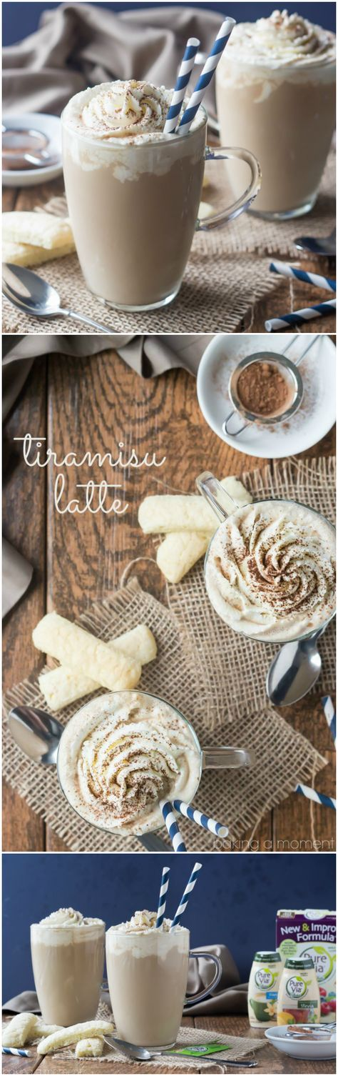 Tiramisu Latte Such a delicious sip! Loved the rich