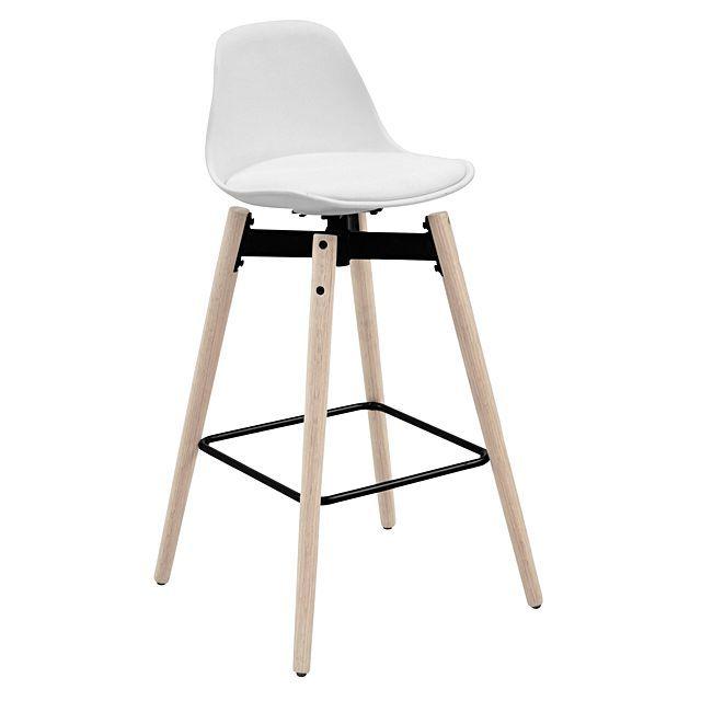 Interstil Zenta White Bar Chair Bar Stools Buy Bar Stools Bar