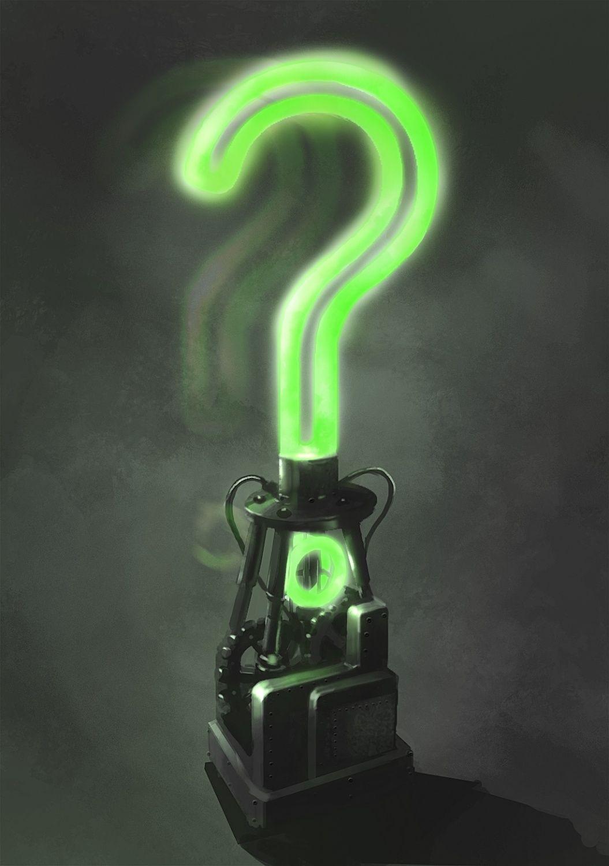 29443 Batman Arkham City Riddler Question Mark