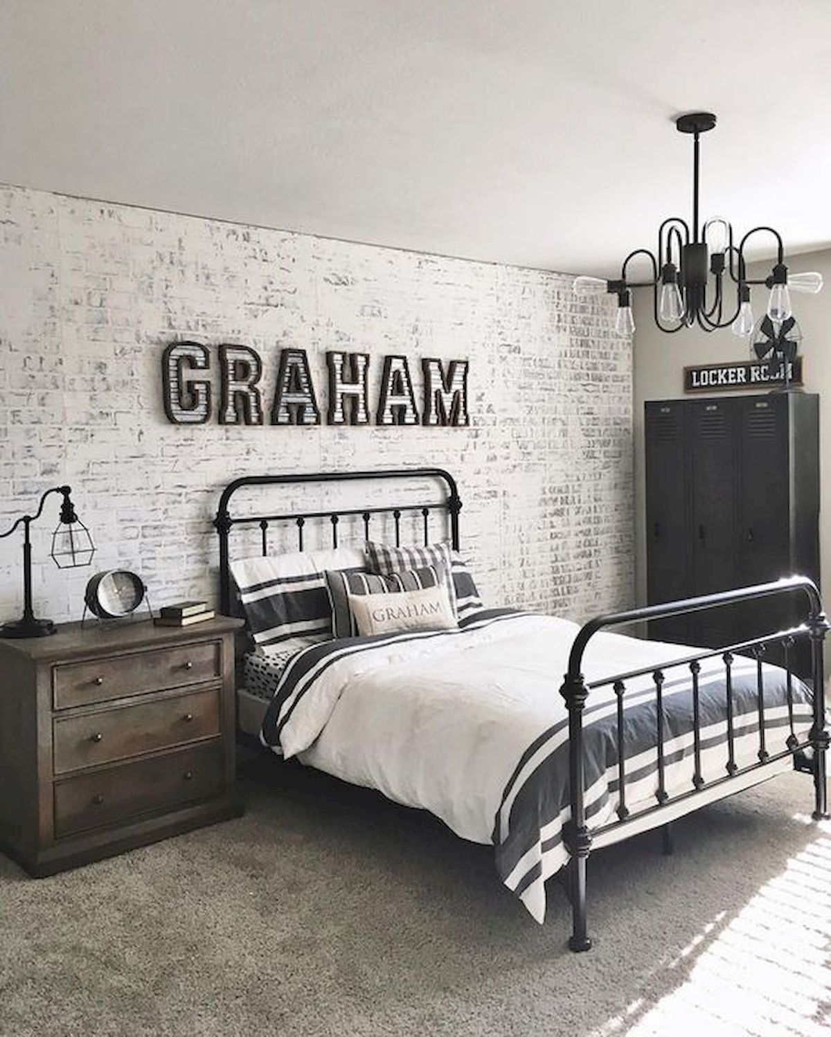 45 Cool Boys Bedroom Ideas to Try at Home (1 (With images ...