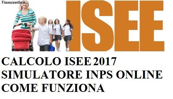 Calcolo isee simulatore inps online come funziona for Isee ordinario