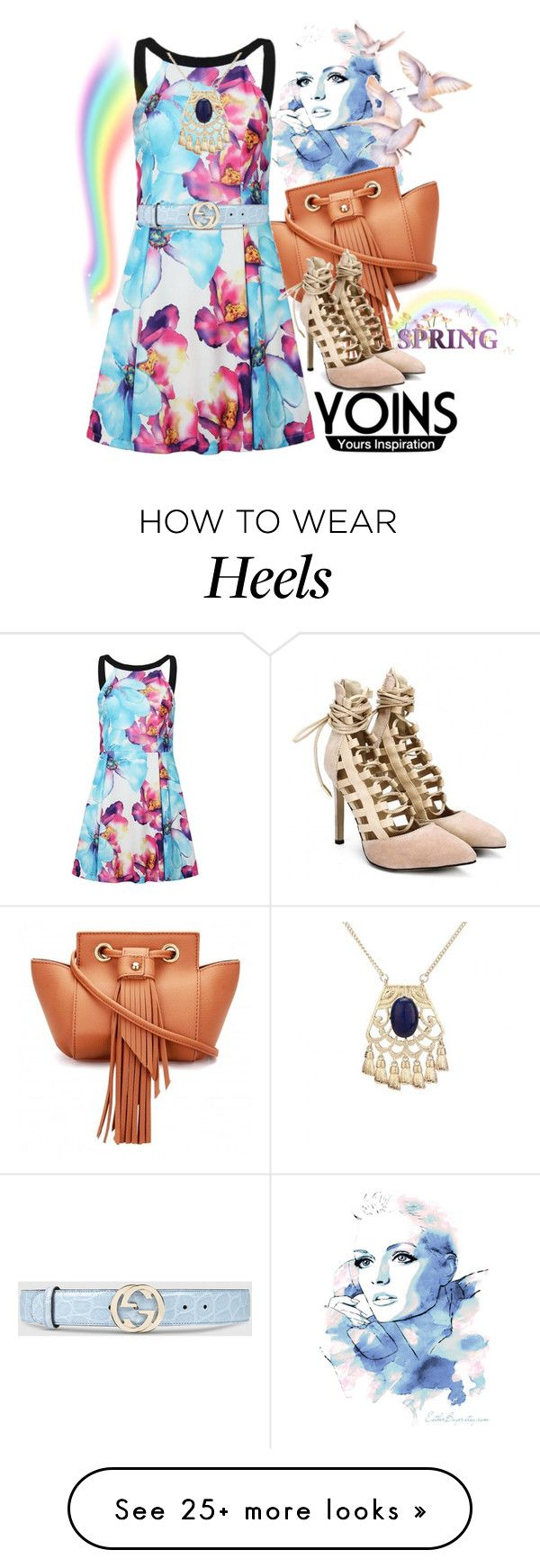 """""""Yoins contest"""" by irinavsl on Polyvore featuring Gucci and yoins"""