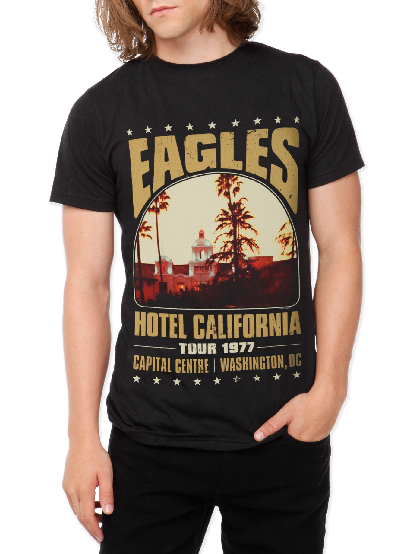Eagles T-shirt With Artwork Band' Hotel