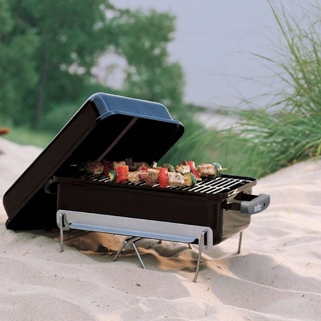 Superieur Boating, Fishing, Camping, The Weber Go Anywhere Is The Ultimate In Hibachi  Style Cooking, This Portable Charcoal BBQ Provides Perfectly Grilled Steaks  Or ...