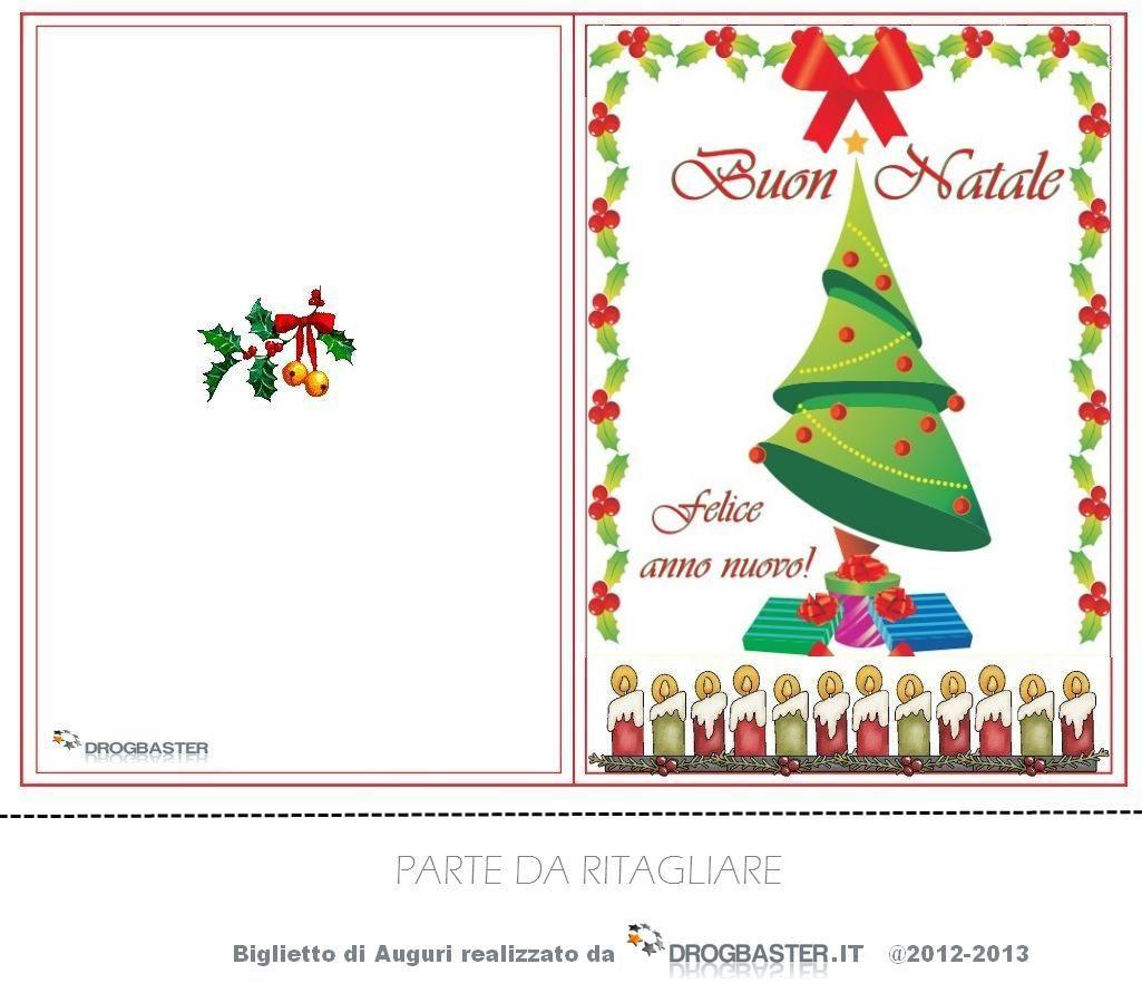 Extrêmement Biglietti Cards di Natale per fare i tuoi auguri di Natale ed  WD02