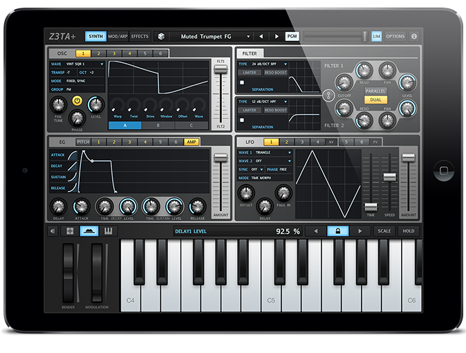 Cakewalk synth Ios music apps, Synth, Ios music
